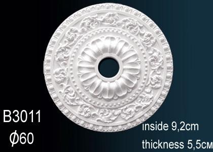 Розетка потолочная Perfect B3011