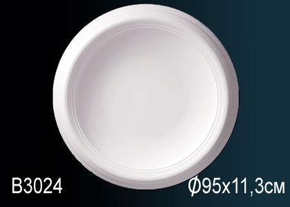 Розетка под покраску Perfect B3024