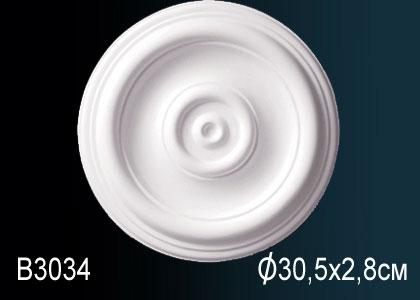 Розетка под покраску Perfect B3034