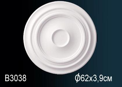 Розетка под покраску Perfect B3038