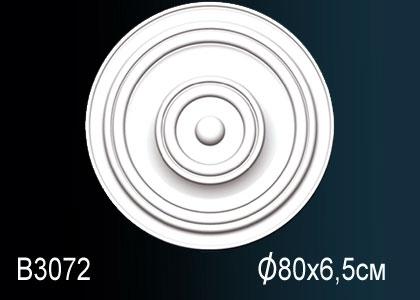 Розетка под покраску Perfect B3072