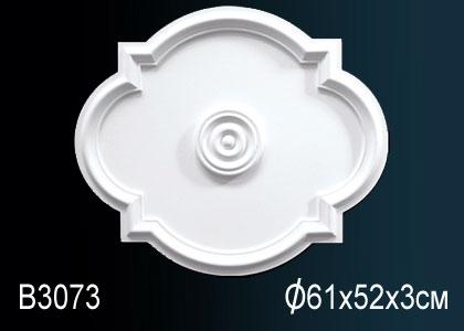 Розетка под покраску Perfect B3073