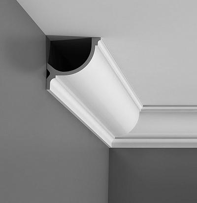Карниз потолочный с подсветкой Orac decor C902 клей в подарок