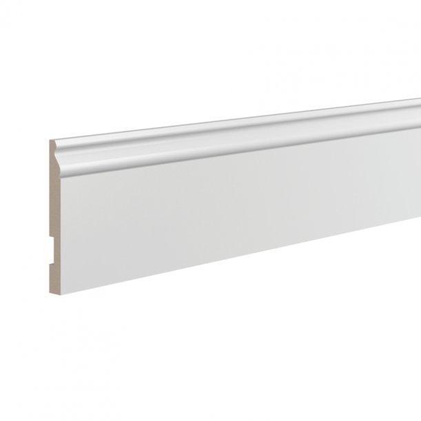Плинтус ЛДФ высокий напольный Ultrawood 5763 клей в подарок
