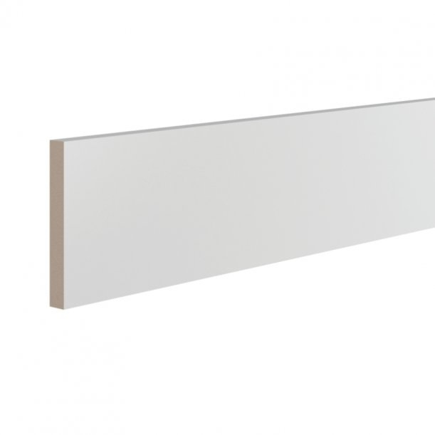 Плинтус ЛДФ напольный под покраску Ultrawood 0518 Bo