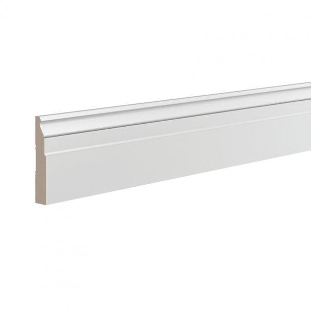 Плинтус широкий под покраску Ultrawood Base5032 клей в подарок