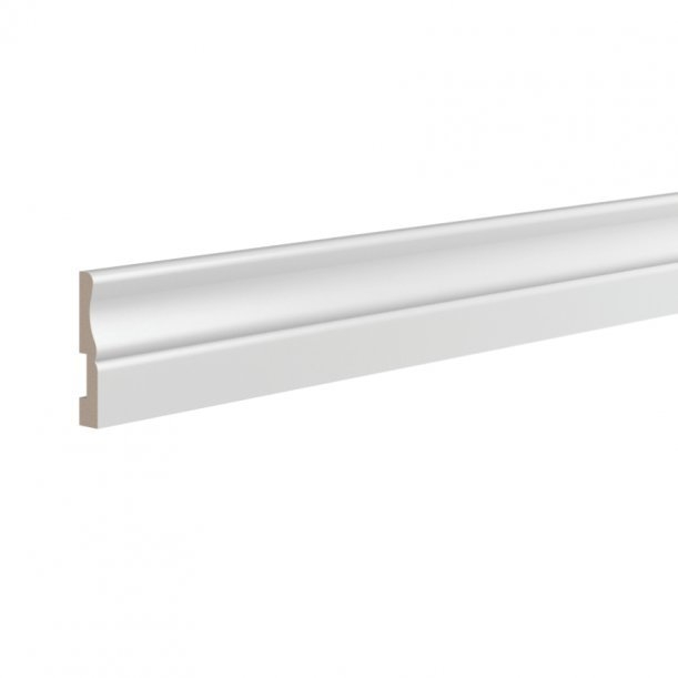 Плинтус ЛДФ напольный Ultrawood 5340 клей в подарок