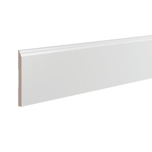 Плинтус ЛДФ высокий напольный Ultrawood 0008 клей в подарок