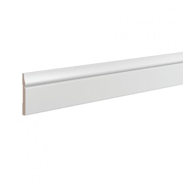 Плинтус деревянный ЛДФ под покраску  Ultrawood Base5748