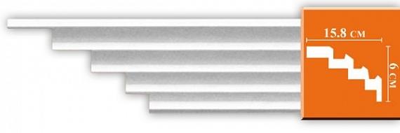 Карниз гладкий под покраску Decomaster DP375