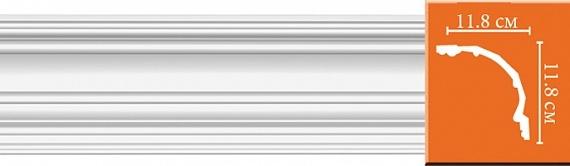 Карниз гладкий под покраску Decomaster DP50