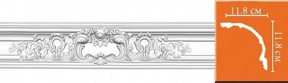 Карниз с орнаментом под покраску Decomaster DP51