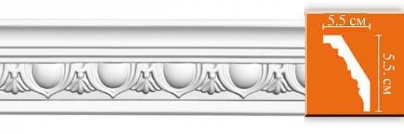 Карниз с орнаментом под покраску Decomaster DS13A F