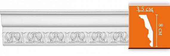 Карниз с орнаментом под покраску Decomaster DT33F