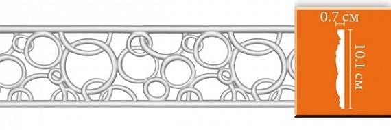Молдинг с орнаментом под покраску Decomaster DT8035