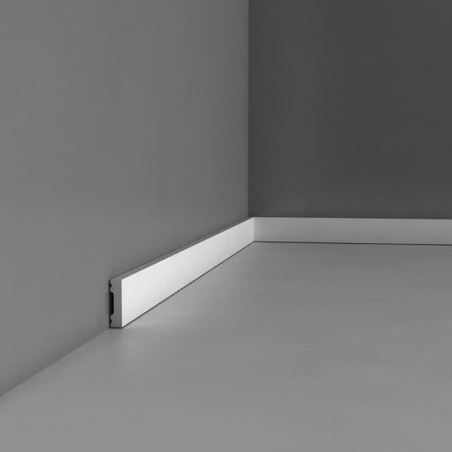 Плинтус напольный под покраску Orac decor DX162
