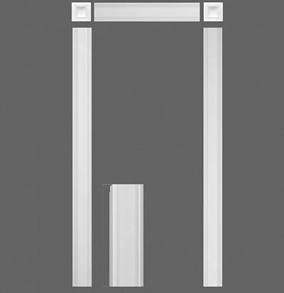 Дверное обрамление(комплект) Orac decor KX001