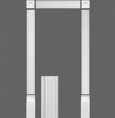 Дверное обрамление(комплект) Orac decor KX003