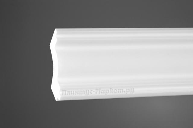 Карниз потолочный под покраску NMC DSMNNJ001 клей в подарок