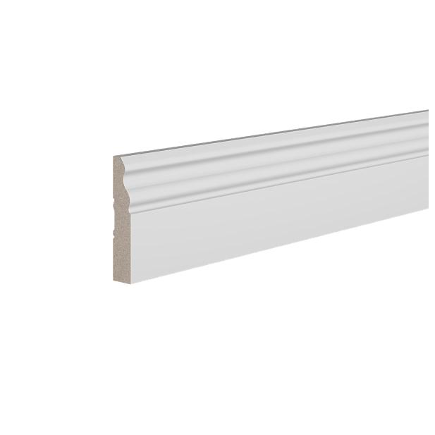 Плинтус деревянный ЛДФ под покраску Ultrawood Base021