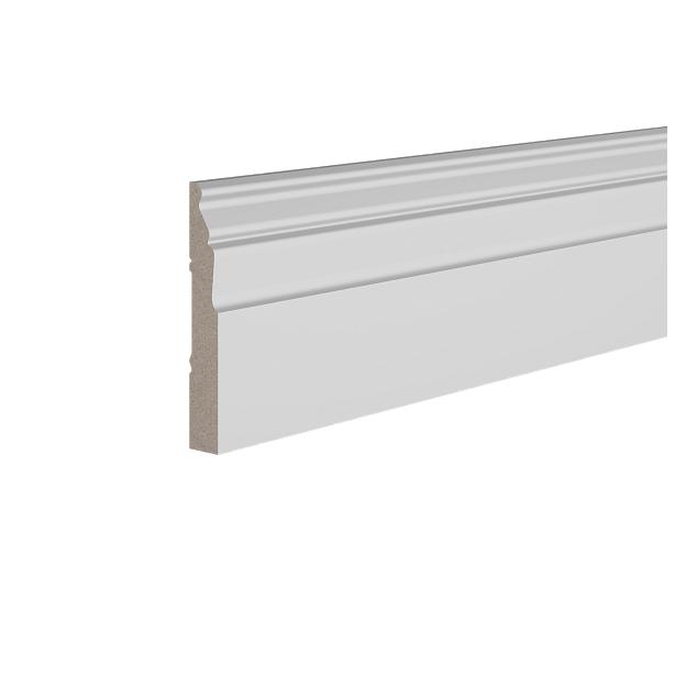 Плинтус деревянный ЛДФ под покраску Ultrawood Base022 клей в подарок