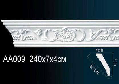 Карниз с орнаментом  Perfect AA009 клей в подарок