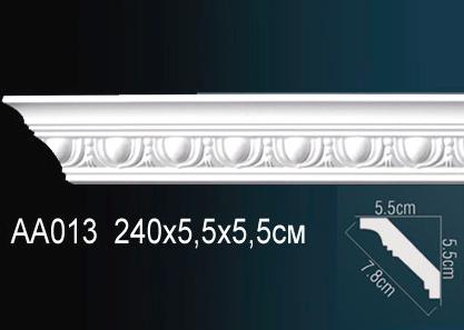 Карниз с орнаментом  Perfect AA013 клей в подарок