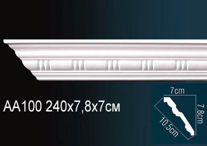 Карниз с орнаментом  Perfect AA100 клей в подарок