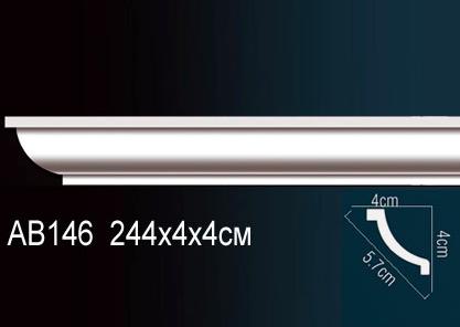 Карниз потолочный под подсветку Perfect AB146 клей в подарок