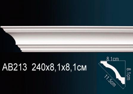 Карниз потолочный под подсветку Perfect AB213 клей в подарок