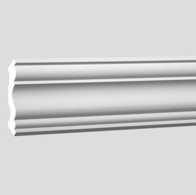 Потолочный карниз полиуретановый Decomaster 96406 клей в подарок