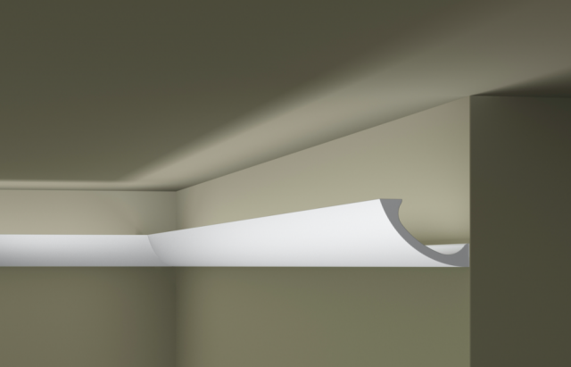 Карниз потолочный под подсветку NMC WT3 клей в подарок
