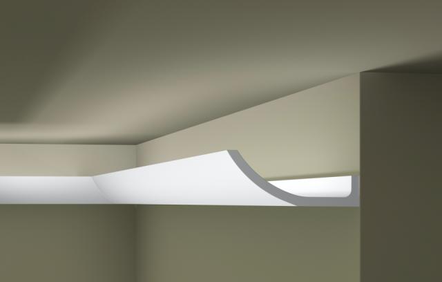 Карниз потолочный под подсветку NMC WT4
